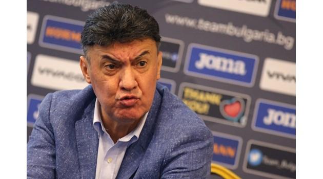 Пробит кораб е българския футбол