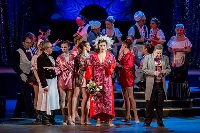 """""""Царицата на чардаша"""" на Музикалния театър е една класическа и в същото време модерна трактовка на оперетата на Калман."""