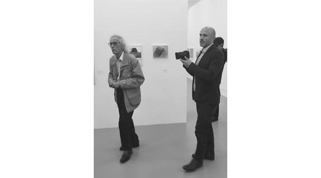 Щастлив съм, че срещнах единствения български артист, аплодиран от света - Кристо