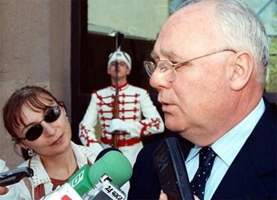Джеймс Пардю Снимка архив