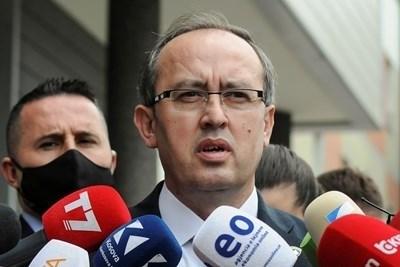 Косовският премиер Авдулах Хоти СНИМКА: Ройтерс
