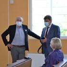 Лютви Местан и адвокатът му Нацко Дойчев СНИМКА: Авторът