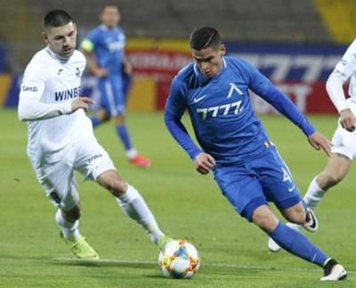 """""""Синият"""" ляв бек Иван Горанов пак е част от националния тим. Снимка: сайт на """"Левски"""""""