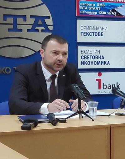 Ивайло Здравков - шеф на ТД на НАП - Велико Търново