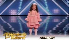 Песен на Франк Синатра изпълнена от 5 годишно момиченце