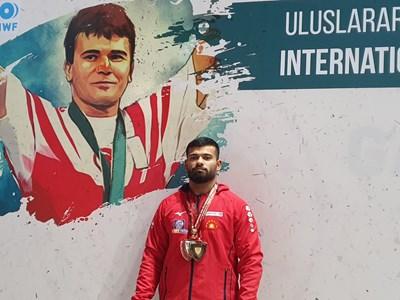 Божидар Андреев СНИМКИ: Български олимпийски комитет