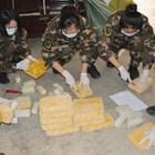 Китайската полиция е конфискувала 133 кг наркотици в гранична провинция