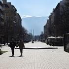 """Заведенията на """"Витошка"""" в София затвориха, разчитат на държавната помощ."""