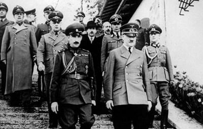 Цар Борис III с Адолф Хитлер