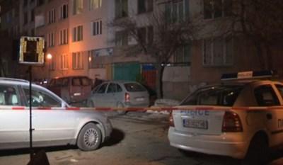 """Мъж уби приятелката си в столичния квартал """"Банишора"""" КАДЪР: БНТ"""