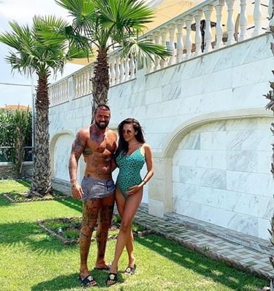 Благой и Златка на почивка в Солун СНИМКА: инстаграм/blagogeorgiev_official