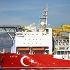 """""""Фатих"""", се намира край западните брегове на Кипър от началото на май. Снимка РОЙТЕРС"""