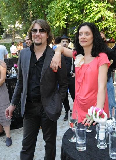 Ханес и Мариана Попова по време на църковния брак на Магърдич и Кремена Халваджиян миналата година СНИМКА: БУЛФОТО