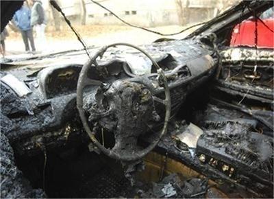 Изгоряла до основи кола СНИМКА: Архив