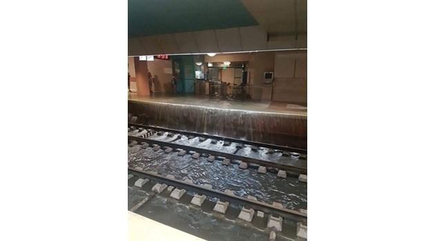 Експерт: Опасно е, ако нивото на водата в метрото се вдигне над ходовите релси