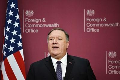 Държавният секретар на САЩ Майк Помпейо СНИМКА: Ройтерс