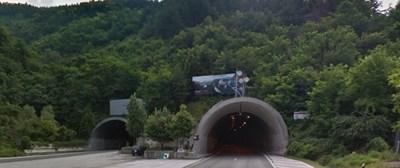 """Тунел """"Правешки ханове"""" на АМ """"Хемус"""" СНИМКА: Гугъл стрийт вю"""