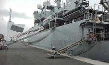 Кораби на НАТО атракция в Бургас, вижте ги отвътре (Снимки)