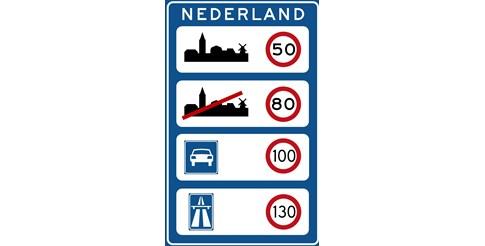 Холандия ограничи скоростта по магистралите на 100 км/ч през деня