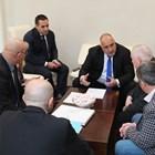 Борисов обсъди с Камарата на строителите изграждането на водопровод до Перник