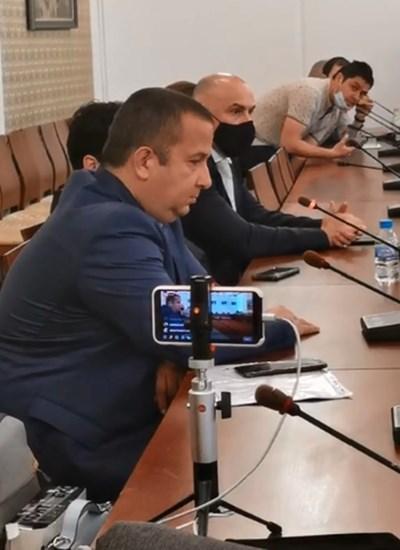 Светослав Илчовски говори пред депутатите в сряда.