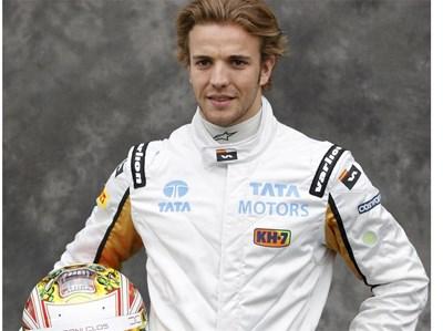 Дани Клос днес ще кара в тренировка за Формула 1. Испанецът е бивше гадже на Михаела Стоичкова. Снимка: Ройтерс