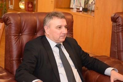 Проф. Димитър Димитров СНИМКИ: УНСС