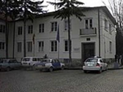 Сградата на полицията в Берковица СНИМКА: МВР-Берковица