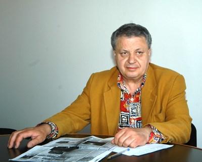 """Иван Качов при едно от посещенията си в """"24 часа"""""""