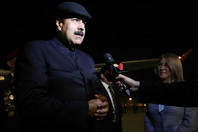 Венецуелският президент Николас Мадуро СНИМКА: Ройтерс