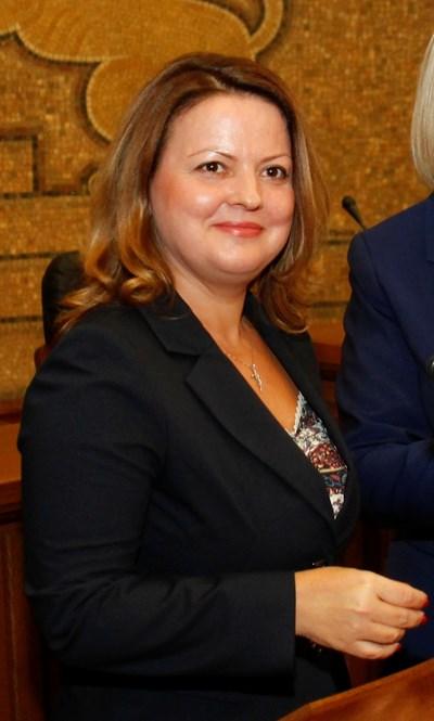 Гергана Мутафова е член на ВСС, избрана от квотата на Народното събрание. СНИМКА: Десислава Кулелиева