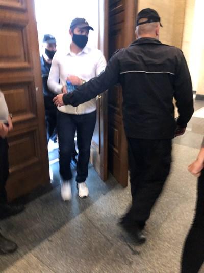Кристиан Николов в съда