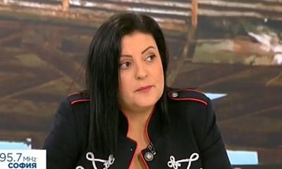 Мария Николова. Кадър Нова телевизия