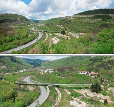 Новият пътен възел под Трапезица ще разтовари трафика в Старо Търново