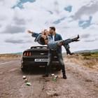 Поли и любимият й Джоузеф в клипа към песента No More СНИМКА: фейсбук, Poli Genova / Поли Генова