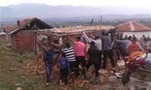 Собственици на разрушени в Гърмен къщи очакват държавата да възстанови загубите им