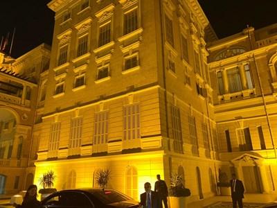 Дворецът Кобе, в който беше настанен премиерът Борисов. СНИМКИ: 24 ЧАСА