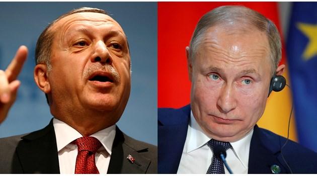 Остро напрежение между Русия и Турция през 2021 г.