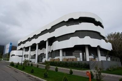 Националната футболна база в Бояна. Снимка Архив