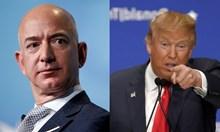 Тръмп атакува Безос със секс компромати: Той е гол в компания на Голямата прахосница