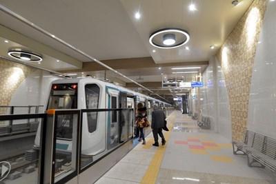 Първите пет станции на третата метролиния в София ще бъдат пуснати през май СНИМКА: Йордан Симeонов