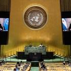 """""""В условията на пандемия и бедност никой няма да се справи сам"""", заяви тпри изявлението си в ООН президентът на Аржентина Алберто Фернандес СНИМКА: Ройтерс"""