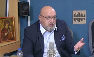 Спортният министър Красен Кралев.