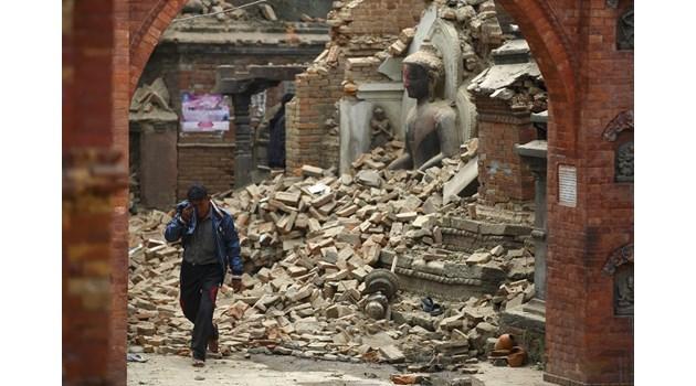 Предвестник: Две седмици преди мощно земетресение въздухът се нагрява