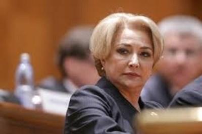 Румънският премиер Виорика Дънчила СНИМКА: Ройтерс