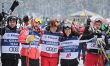 10 000 и сняг за старта на зимния сезон в Банско (Снимки)