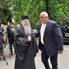 Бойко Борисов при посещението си в Рилския манастир СНИМКИ: Антоанета Маскръчка