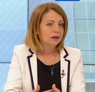 Столичният кмет Йорданка Фандъркова КАДЪР: БНТ