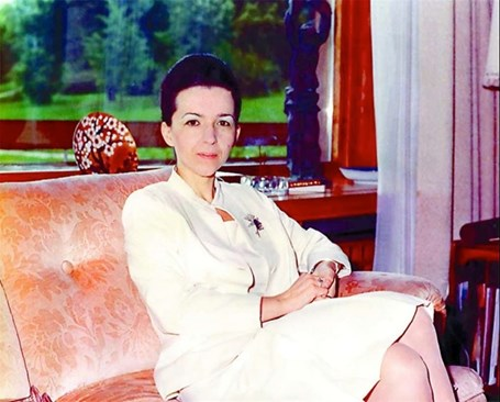 Людмила Живкова посещава тайно ашрами.