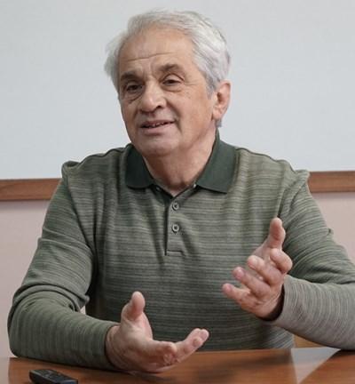 Борис Бесарабов СНИМКА: Десислава Кулелиева